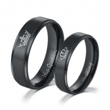 Her King and His Queen Couple Rings (2 colors)