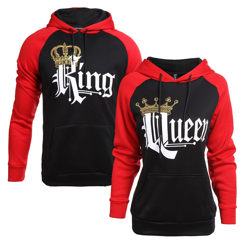 56a0c9f2e74 Buy King and Queen Hoodie Online