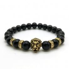Lion Head Couple Bracelet (10 colors)