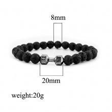Sports Dumbbell Couple Bracelet (6 colors)