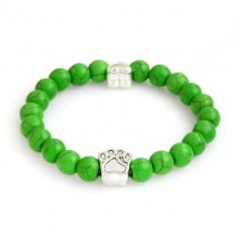 Dog Paw Couple Bracelet (6 colors)