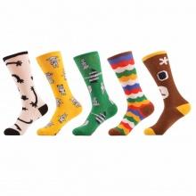 Women's Funny Happy Couple Socks -5 Pairs