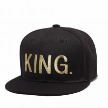 Gold King and Queen Couple Snapback